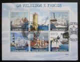 Poštovní známky Guinea-Bissau 2009 Plachetnice a majáky Mi# 4384-88 Kat 14€