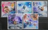 Poštovní známky Guinea-Bissau 2009 Průzkum vesmíru Mi# 4492-96 Kat 14€