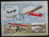 Poštovní známka Mosambik 2009 Letadla Mi# Block 255 Kat 10€