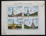 Poštovní známky Svatý Tomáš 2010 Concorde a Eiffelovka Mi# 4373-76 Kat 11€