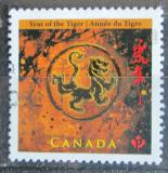 Poštovní známka Kanada 2010 Čínský nový rok, rok tygra Mi# 2590