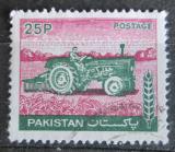 Poštovní známka Pákistán 1979 Traktor Mi# 468