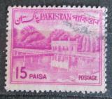 Poštovní známka Pákistán 1965 Zahrady Shalimar, Lahore Mi# 183
