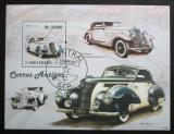 Poštovní známka Svatý Tomáš 2009 Staré automobily Mi# Block 735 Kat 10€