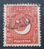 Poštovní známka Pákistán 1949 Hvězda a půlměsíc Mi# 49
