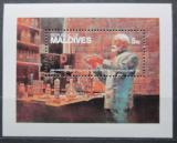Poštovní známka Maledivy 1982 Robert Koch, objevitel TBC Mi# Block 86