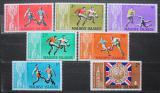 Poštovní známky Maledivy 1967 MS ve fotbale Mi# 207-13 Kat 14€