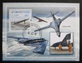 Poštovní známka Mosambik 2009 Vojenská letadla Mi# Block 258 Kat 10€