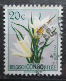 Poštovní známka Belgické Kongo 1952 Květiny, Vellozia aequatorialis Mi# 297