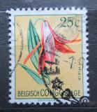 Poštovní známka Belgické Kongo 1952 Květiny, Littonia lindenii Mi# 298