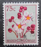 Poštovní známka Belgické Kongo 1952 Květiny, Ochna biligiana Mi# 302