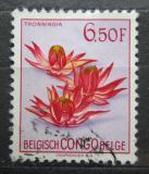 Poštovní známka Belgické Kongo 1952 Květiny, Thonningia Mi# 310