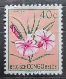 Poštovní známka Belgické Kongo 1952 Květiny, Ipomoea filicaulis Mi# 299