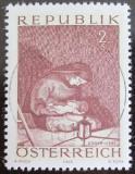 Poštovní známka Rakousko 1969 Madona, Egger-Lienz Mi# 1318