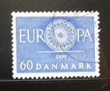 Poštovní známka Dánsko 1960 Evropa CEPT Mi# 386