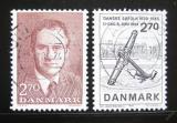 Poštovní známky Dánsko 1984 Princ Henrik a den D Mi# 808-09