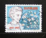 Poštovní známka Dánsko 1985 Královna Ingrid Mi# 838