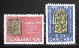 Poštovní známky Dánsko 1993 Archeologické nálezy Mi# 1046-47