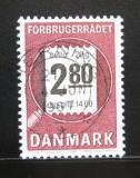 Poštovní známka Dánsko 1987 Koncil spotřebitelů Mi# 890