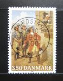 Poštovní známka Dánsko 1990 Umění, Peter Wessel Mi# 990