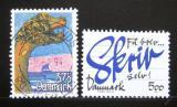 Poštovní známky Dánsko 1993 Kreslení a psaní Mi# 1061-62