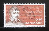 Poštovní známka Dánsko 1987 Rasmus Rask Mi# 900