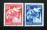 Poštovní známky DDR 1952 Kongres národů Mi# 320-21 Kat 14€