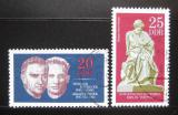 Poštovní známky DDR 1970 Boj proti fašismu Mi# 1603-04