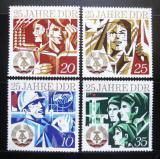 Poštovní známky DDR 1974 Výročí vzniku republiky Mi# 1949-52