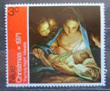 Poštovní známka Niue 1971 Vánoce, umění, Carlo Maratti Mi# 119