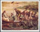 Poštovní známka Malawi 1983 Umění, Raffael Mi# Block 61