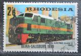 Poštovní známka Rhodésie, Zimbabwe 1969 Dieselová lokomotiva Mi# 83 Kat 6.50€
