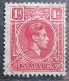 Poštovní známka Jamajka 1938 Král Jiří VI. Mi# 120