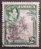 Poštovní známka Jamajka 1951 Kokosové palmy Mi# 123