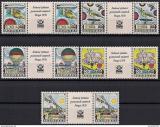 Poštovní známky Československo 1977 Letectví Mi# 2396-2400