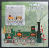 Poštovní známka Svatý Tomáš 2007 Lokomotiva Rocket Mi# 3058 Block