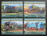 Poštovní známky SAR 2017 Staré parní lokomotivy Mi# 6950-53 Kat 16€