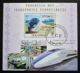 Poštovní známka Mosambik 2010 TGV rychlovlak Mi# Block 390 Kat 10€