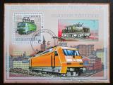 Poštovní známka Mosambik 2009 Elektrické lokomotivy Mi# Block 250 Kat 10€