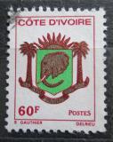 Poštovní známka Pobřeží Slonoviny 1976 Státní znak Mi# 479
