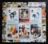 Poštovní známky Tádžikistán 2000 Psi Mi# N/N