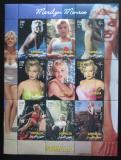 Poštovní známky Somálsko 2002 Marilyn Monroe Mi# N/N