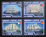 Poštovní známky Sierra Leone 2017 Plachetnice Mi# 8371-74 Kat 11€