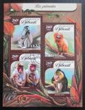 Poštovní známky Džibutsko 2016 Primáti Mi# 914-17 Kat 12€