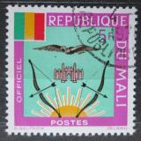 Poštovní známka Mali 1964 Státní znak, služební Mi# 15