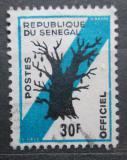 Poštovní známka Senegal 1966 Baobab prstnatý, úřední Mi# 13