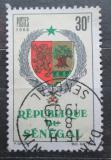 Poštovní známka Senegal 1966 Státní znak Mi# 336