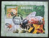 Poštovní známka Mosambik 2007 Včely Mi# Block 215 Kat 10€