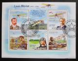 Poštovní známky Guinea-Bissau 2009 Louis Blériot a letadla Mi# 4509-13 Kat 14€