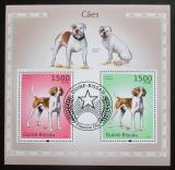 Poštovní známky Guinea-Bissau 2010 Psi Mi# Block 872 Kat 12€
